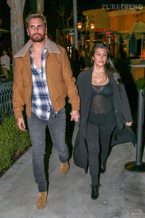 Kourtney Kardashian et Scott Disick semblent plus que jamais au bord de la rupture.