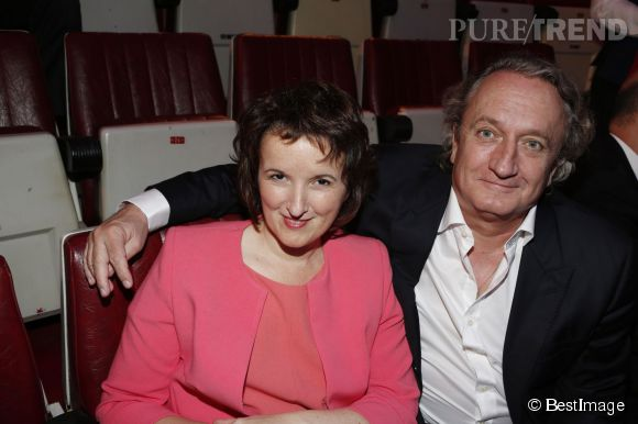 Anne Roumanoff et son mari Philippe Vaillant.