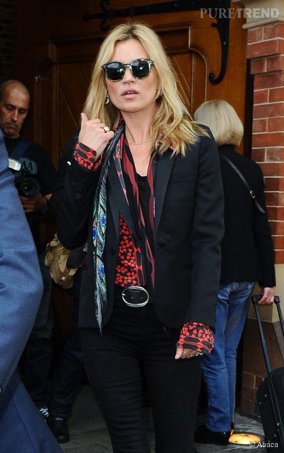 Kate Moss, naturelle et envoûtante pour pour Cosme Decorté.