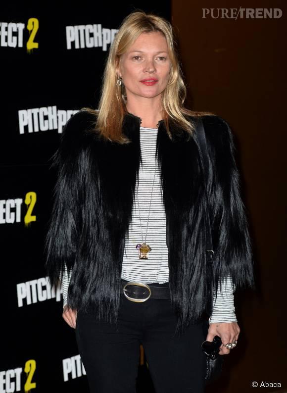 A 41 ans, la Brindille fait toujours autant d'effet dans le monde de la mode.