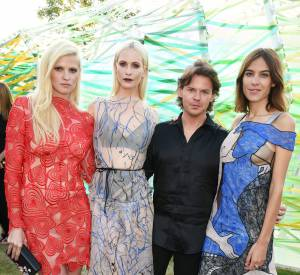 Défilé de it girls à la Summer Party de la Serpentine Gallery le 2 juillet 2015 à Londres.