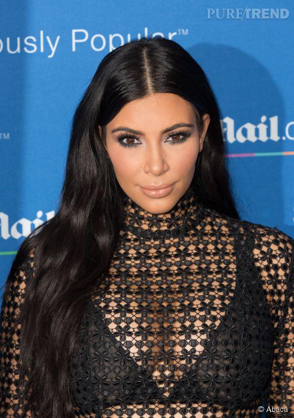 Kim Kardashian a posté une photo d'elle en combinaison moulante, samedi 4 juillet 2015.