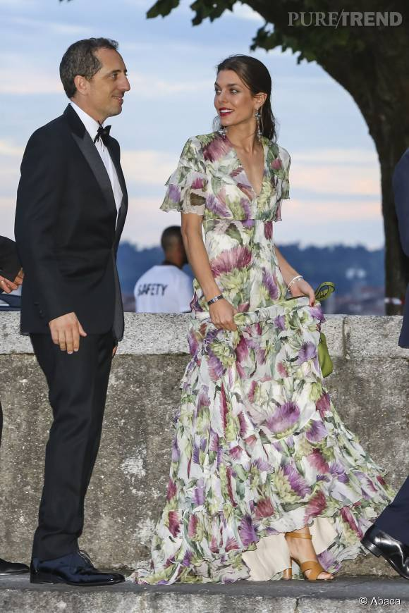 Charlotte Casiraghi, sublime au mariage de son fr\u0026egrave;re Pierre Casiraghi
