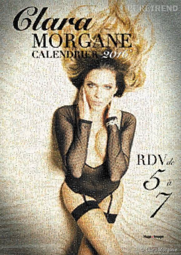 Clara Morgane révélait récemment la cover de son calendrier 2016 choisit par ses fans.