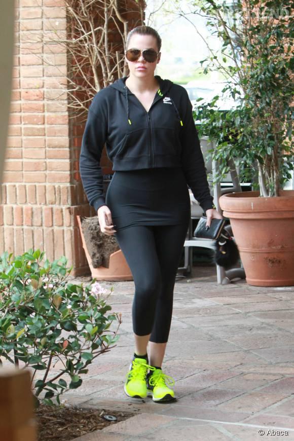 Khloe Kardashian a déjà perdu 16 kilos.