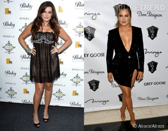 Khloe Kardashian, la métamorphose continue.
