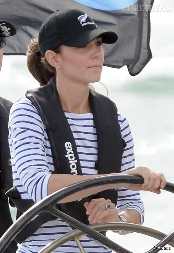 Kate Middleton est une grande sportive. Après la voile, elle se met à la plongée.