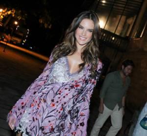 Alessandra Ambrosio à tomber dans sa micro robe