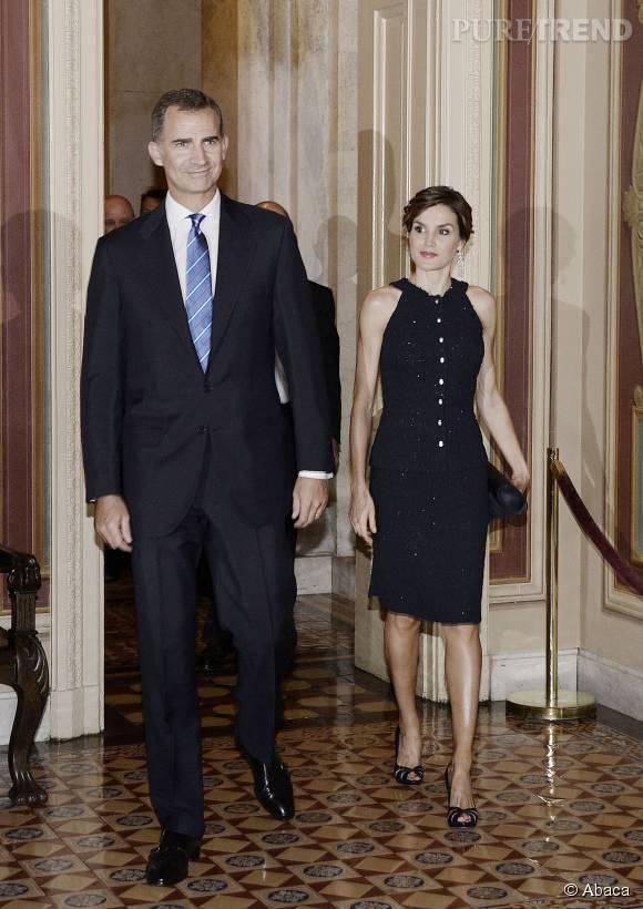 Letizia d'Espagne, sensuelle et follement élégante pour une visite officielle à Washington.