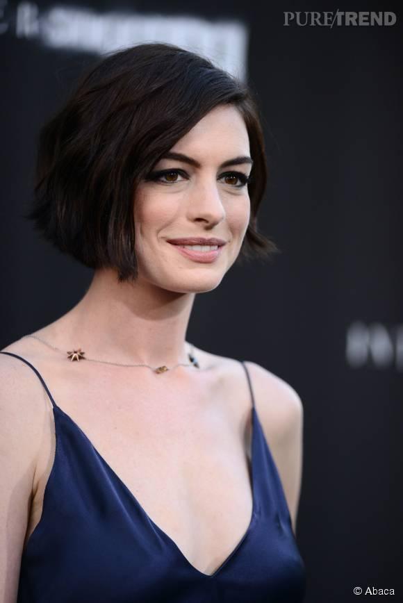 Anne Hathaway a toujours aimé les coupes courtes et il faut dire qu'elles lui vont à merveille.