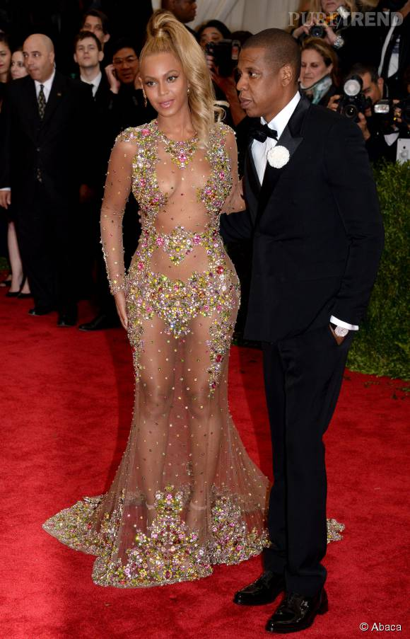 Beyoncé et son mari Jay,Z..