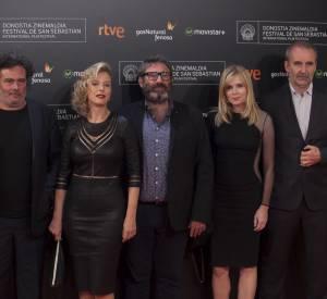 """L'équipe du film """"21 nuits avec Pattie"""" en compétition officielle à San Sebastian cette année."""