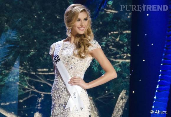 Camille Cerf divine pour l'éléction de Miss Univers.