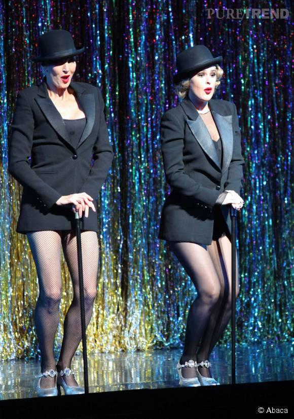 Rumer Willis se transforme en pin-up des années 50 sur la scène de Broadway.