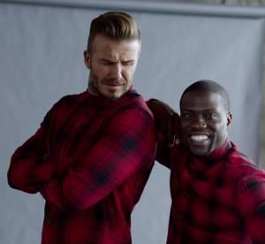 H&M : David Beckham se fait piquer la vedette par Kevin Hart