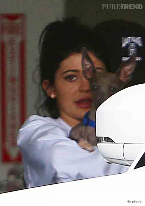 Kylie Jenner, méconnaissable sans maquillage.