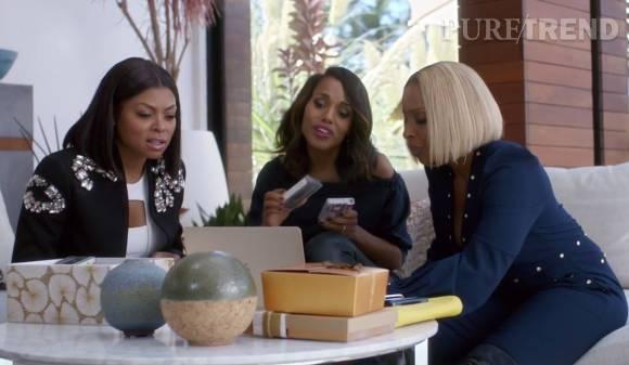 Kerry Washington, Taraji P. Henson et Mary J. Blige vantent le streaming musical Apple Music.