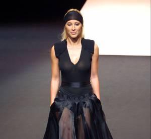 """Après sa victoire dans """"Loft Story"""", Loana a défilé pour Jean Paul Gaultier pour son défilé du Printemps-Été 2002."""