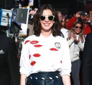 Anne Hathaway : de l'accident culotte au total look au top