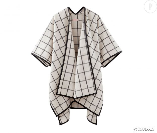 Poncho 3SUISSES Collection, 34,30 euros.
