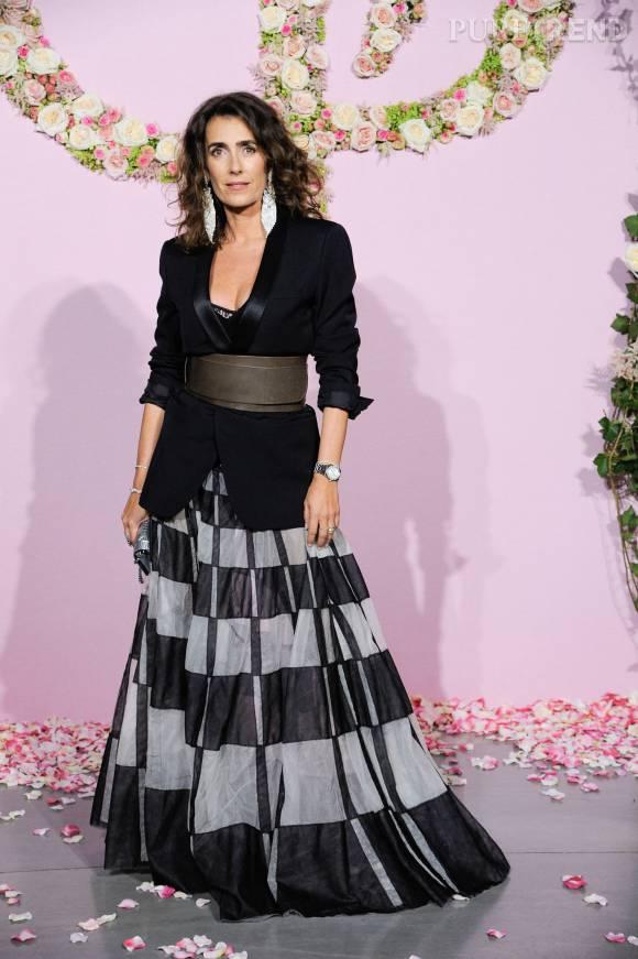 Mademoiselle Agnès à la soirée de lancement de la saison 2015/2016 du palais Garnier.