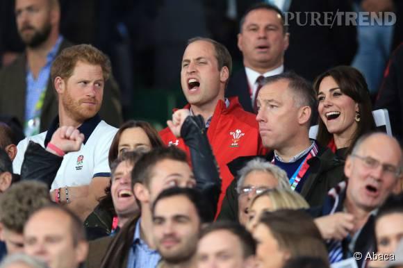 Kate Middleton et le prince William étaient déchaînés pour le match de rugby Angleterre/Pays de Galles
