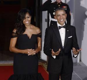 Michelle Obama : sublime First Lady dans une somptueuse robe de princesse