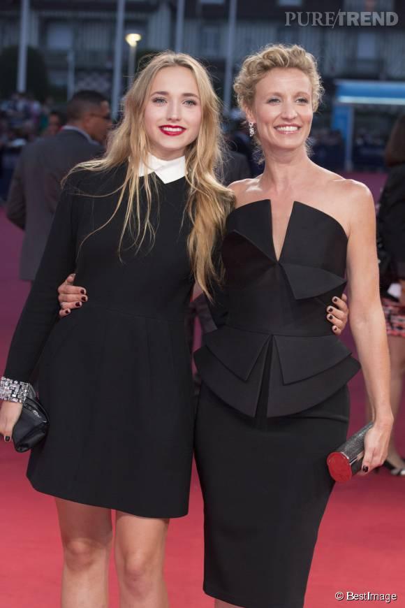 """Alexandra Lamy a mis en garde sa fille quant à sa carrière de comédienne : """"Tu n'auras pas le droit à deux chances""""."""