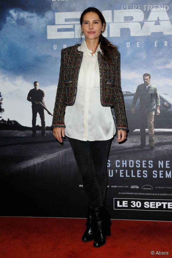 Virginie Ledoyen : le chic parisien incarné !