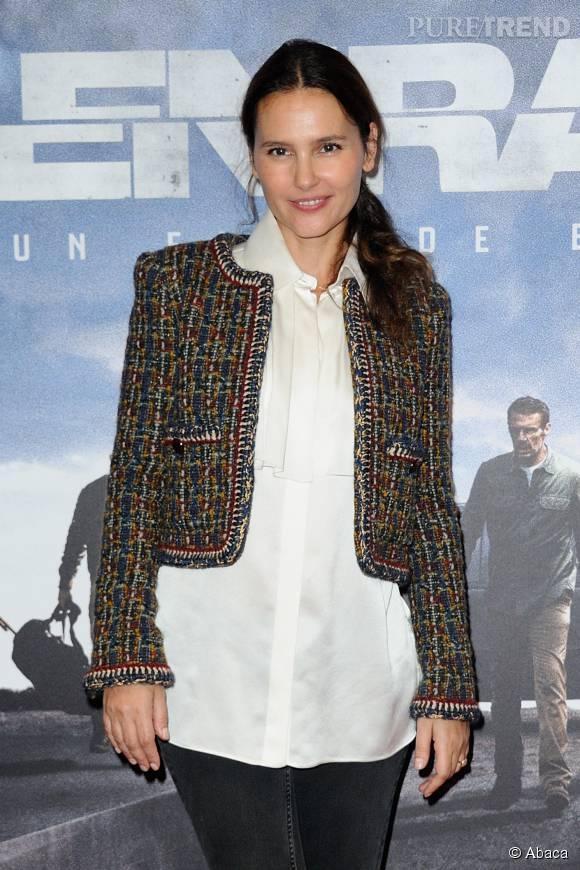 """L'actrice de 38 ans, Virginie Ledoyen, a présenté son nouveau film """"Les enragés""""."""