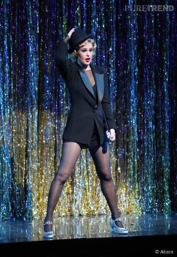 """Rumer Willis se produit actuellement à Broadway dans la comédie musicale """"Chicago""""."""