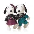 Snoopy et Belle par Swarovski.