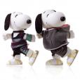 Snoopy et Belle par Victoria Bartlett.