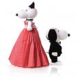 Snoopy et Belle par Bibhu Mohapatra.