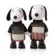 Snoopy et Belle par Calvin Klein.