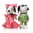 Snoopy et Belle par Christian Siriano.