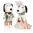 Snoopy et Belle par Edwin Oudshoorn.