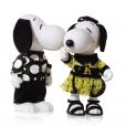 Snoopy et Belle par Emanuel Ungaro.