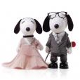 Snoopy et Belle par J. Mendel.