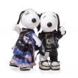 Snoopy et Belle par Rodarte.