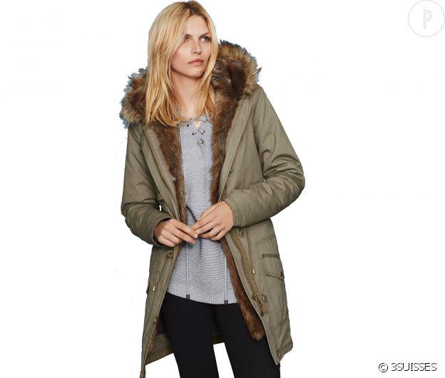 Au poil   5 manteaux en fausse fourrure pour un hiver moelleux ... ecc95bb10a00