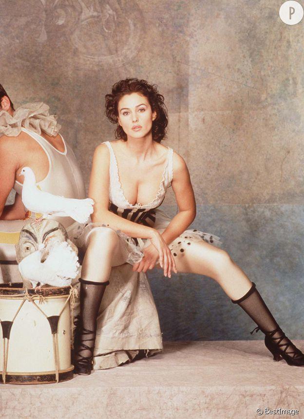 Monica Bellucci, un sex-symbol venu d'Italie.
