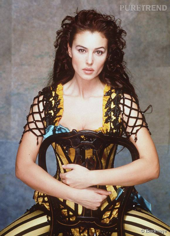 "Monica Bellucci en 1997, à l'époque de ""Dobermann"" de Jan Kounen."