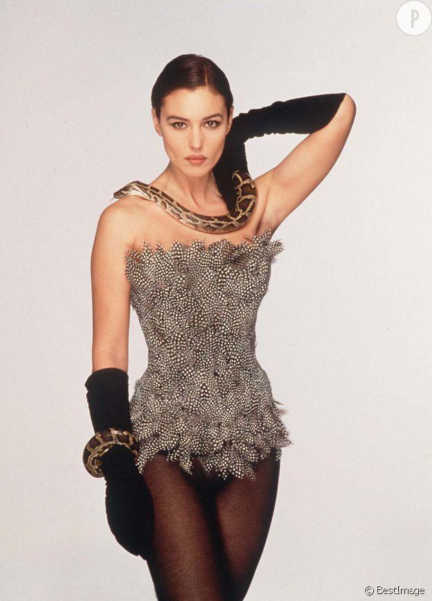 Monica Bellucci, une beauté sauvage.
