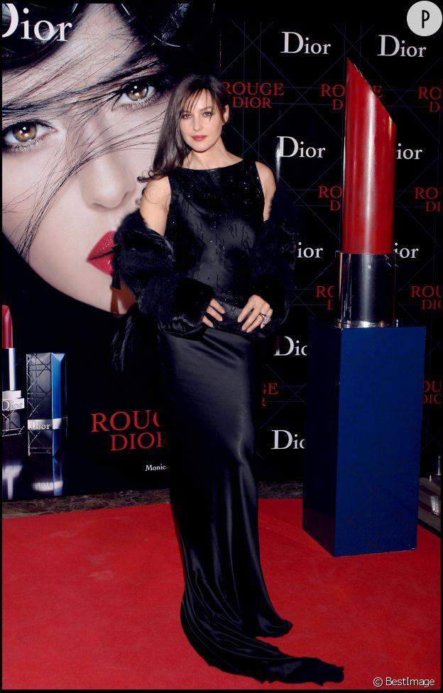 Monica Bellucci, divine égérie de la maison Dior.