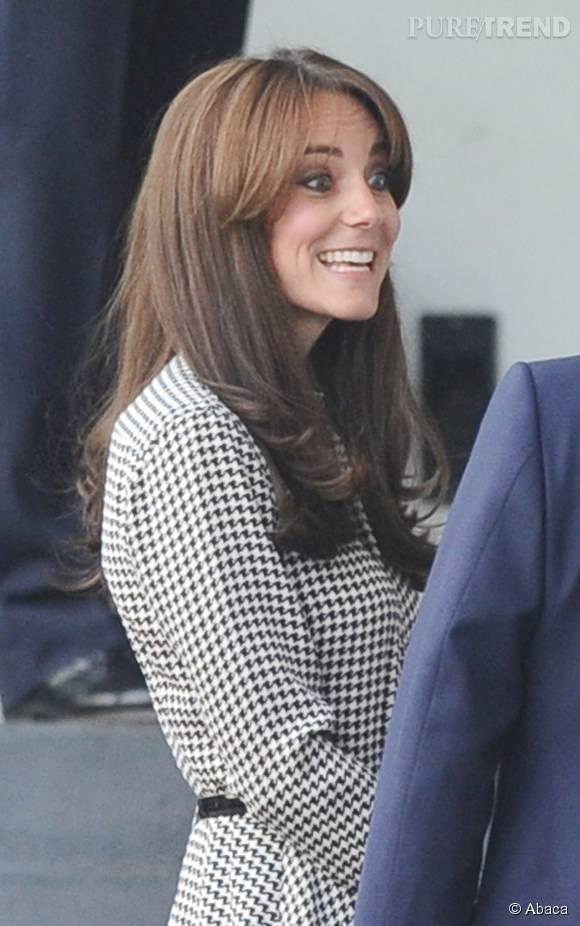 Kate Middleton regrette déjà sa nouvelle frange.