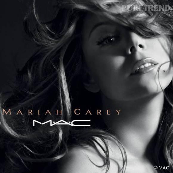 Mariah Carey x Mac : première image de la campagne.
