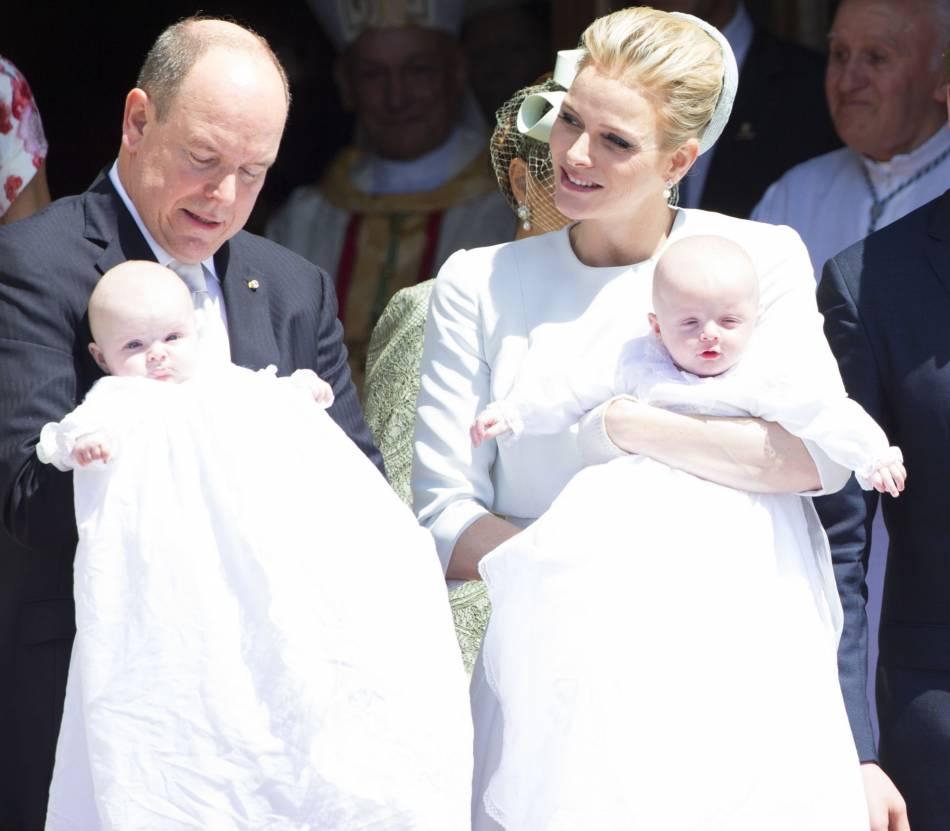 Jacques et Gabriella lors de leur baptême en mai 2015.