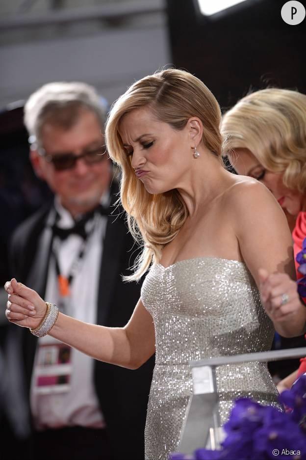 """Reese Witherspoon vient d'entendre les premières notes de """"Drunk in love""""."""