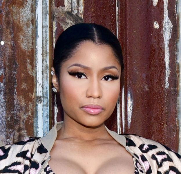 Nicki Minaj, toujours discrète et distinguée.